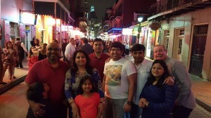 New Orleans cannot be completed without a stop at the infamous Bourbon street.