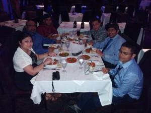 Dinner, SOT 2015